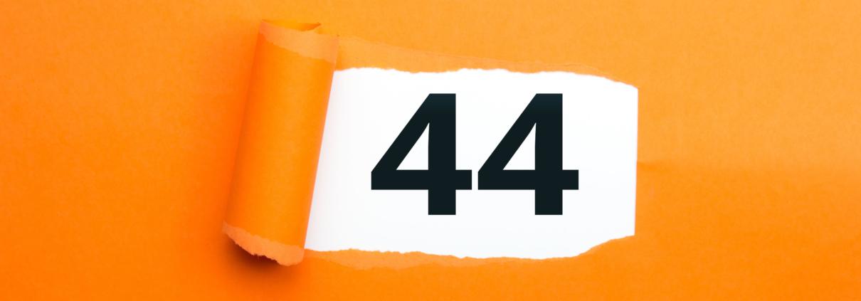 Zahl 44